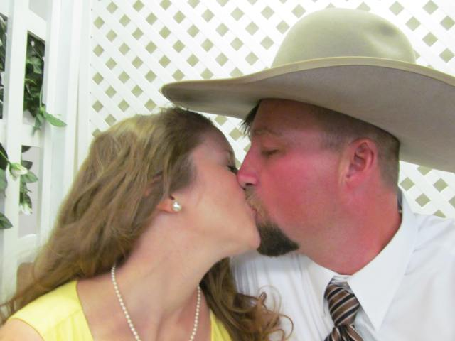While waiting to get married by Elvis in Reno, we sneaked in a few extra smooches as single people.
