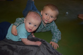 Milo and Cody were buds.